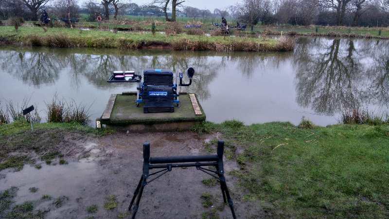 Gary matthews reports back from partridge lakes winter league for Lake mathews fishing