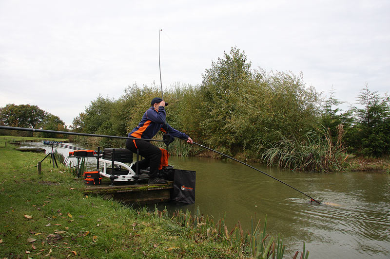 Rob Catching A Few Main